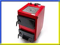 Твердотопливный котел-плита 14К на 12 кВт