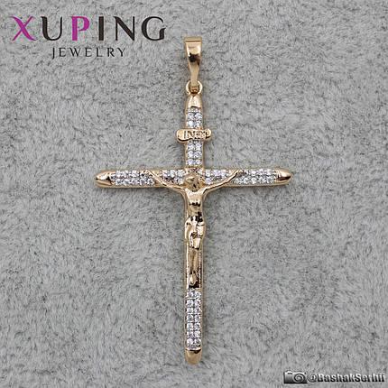 Крест Xuping 43 х 30 мм, фото 2