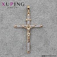 Кулон Крест Xuping Jewelry (позолота) - 1114455601
