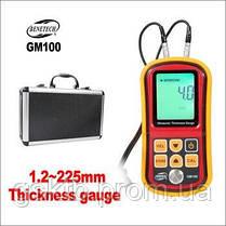 Ультразвуковой толщиномер Benetech GM100 ( 1,2-225 мм ), фото 2