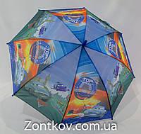 """Детский зонтик для мальчика """"cars"""" на 4-8 лет то фирмы """"Rainproof""""."""