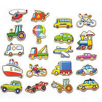 "✅ Набор магнитных фигурок Viga Toys ""Транспорт"" 20 шт. (58924)"