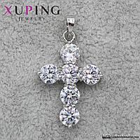 Кулон Крест Xuping Jewelry (позолота) - 1114458162