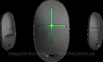 Брелок для управления охранной системой Ajax SpaceControl Черный