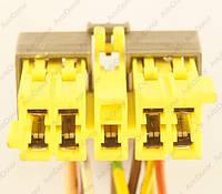 Разъем автомобильный 11-pin/контактный. 39×12 mm. Б.У