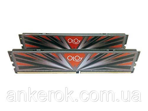 Оперативна пам'ять OLOy Gaming Memory 16GB (2x8GB) DDR4 3000 MHz (MD4U083016BBDA)