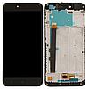 Дисплей (екран) для Xiaomi Redmi Note 5A/Redmi Y1 Lite + тачскрін, чорний, 2/16 Gb, з передньою панеллю