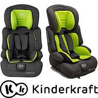 Автокресло Kinderkraft Comfort UP 9-36 кг серо-салатовый