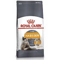 ROYAL CANIN HAIR&SKIN (РОЯЛ КАНИН ХЕА ЕНД СКИН) сухой корм для взрослых кошек с проблемной кожей и шерстью 4кг