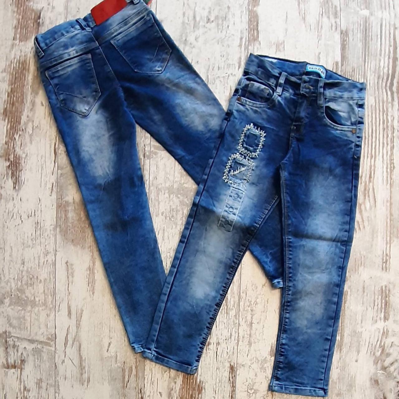 Джинсы модные детские #102. 3-4-5-6-7 года. Оптом