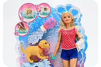Кукла Барби «Веселое купание щенка» (оригинал), фото 2
