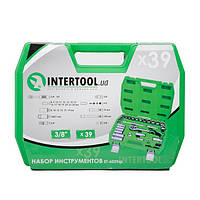 """Набор инструмента 39 ед. 3/8"""" Cr-V INTERTOOL ET-6039SP"""