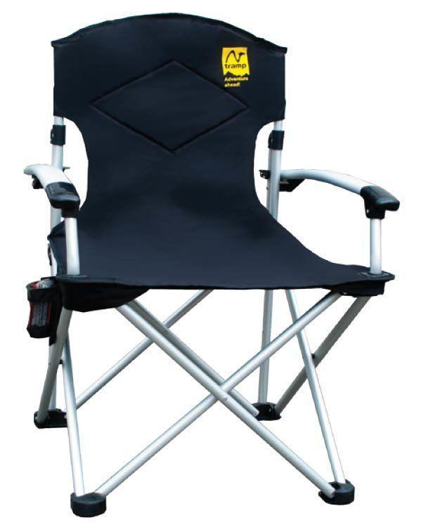Кресло раскладное Tramp с уплотненной спинкой и жесткими подлокотниками 004