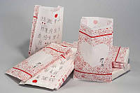 Бумажные пакеты для свадебных подарков.