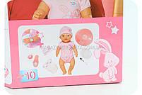 Кукла-пупс «Baby love» (8 функций, 10 аксессуаров) ВL 018B, фото 3