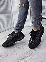 Кроссовки Adidas Yeezy 700 V3 Alvah Адидас Изи 700 Чёрные