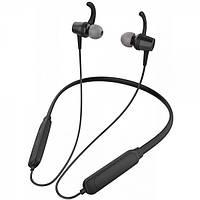 Наушники Bluetooth Celebrat A15 Black, вакуумные беспроводные  sport наушники
