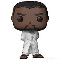 Фігурка Funko POP! Black Panther Robe (White) Vinyl Figure Марвел Чорна пантера 10 см (31287) (B079TMRP83)