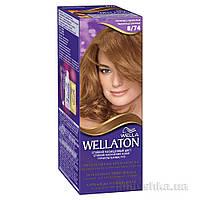 Крем-краска для волос Wellaton 8.74 Шоколад с карамелью