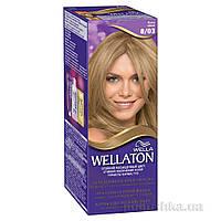 Крем-краска для волос Wellaton 8.03 Ясень