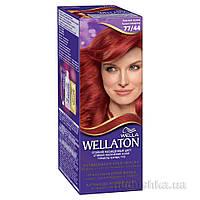 Крем-краска для волос Wellaton 77.44 Красный Вулкан