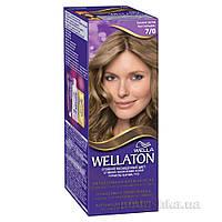 Крем-краска для волос стойкая Wellaton 7.0 Осенняя листва