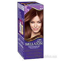 Крем-краска для волос стойкая Wellaton 5.5 Махагон
