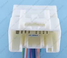Разъем автомобильный 20-pin/контактный. 34×22 mm. Б.У. 12025