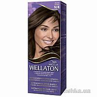 Крем-краска для волос стойкая Wellaton 5.4 Каштан