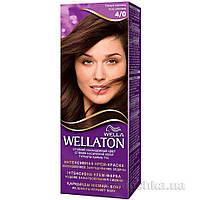 Крем-краска для волос стойкая Wellaton 4.0 Темный шоколад