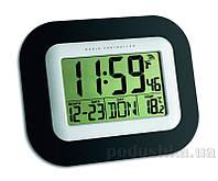 Часы настенные цифровые TFA 604503 с термометром и календарем