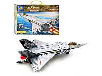 """Конструктор """"Военный самолет"""" KAZI KY 84030, 322 дет."""
