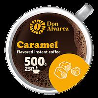 Кофе растворимый ароматизированный Карамель 500 г сублимированный