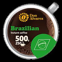 Кофе сублимированный Brazilian 500 г