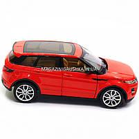 Машинка игровая автопром «Range Rover Evoque» красный 68244A, фото 2