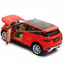 Машинка игровая автопром «Range Rover Evoque» красный 68244A, фото 3
