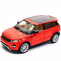 Машинка игровая автопром «Range Rover Evoque» красный 68244A, фото 6