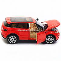 Машинка игровая автопром «Range Rover Evoque» красный 68244A, фото 8