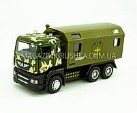 Машинка игровая автопром «Военный грузовик» 5005, фото 3