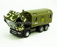 Машинка игровая автопром «Военный грузовик» 5005, фото 4