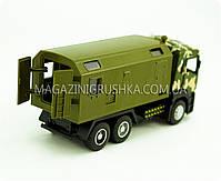 Машинка игровая автопром «Военный грузовик» 5005, фото 5