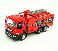 Машинка ігрова автопром «Пожежна машина» 5001, фото 4