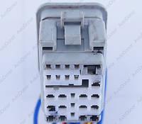 Разъем автомобильный 25-pin/контактный. 27×20 mm. Б.У