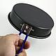 Кастрюля-кружка 0,9 л. анодированная с крышкой-сковородкой, фото 5