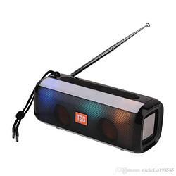Портативная bluetooth стерео колонка T&G-144 Pulse с подсветкой