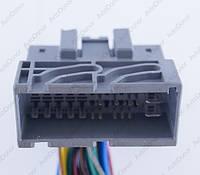 Разъем автомобильный 39-pin/контактный. 52×24 mm. Б.У