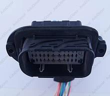 Разъем автомобильный 42-pin/контактный. 56×33 mm. Б.У. 211PL429S0034