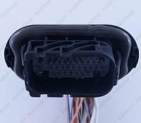 Разъем автомобильный 46-pin/контактный. 49×33 mm. Б.У. 1379111