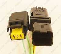 Разъем автомобильный 3-pin/контактный. Пара