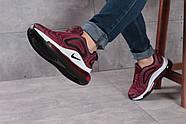 Кроссовки женские 16131, Nike Air 720, бордовые ( размер 36 - 23,0см ), фото 5